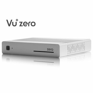 VU+ ZERO WE WHITE Edition mit WIFI-Antenne Sat Full HD 1080p Linux Receiver