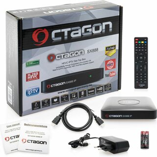 OCTAGON SX888 IP - HEVC H.265 HD IPTV Set-Top Box