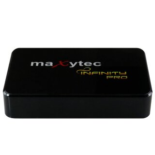 Maxytec INFINITY dark 8K UHD IPTV Receiver PVR 3D Android Streaming Box