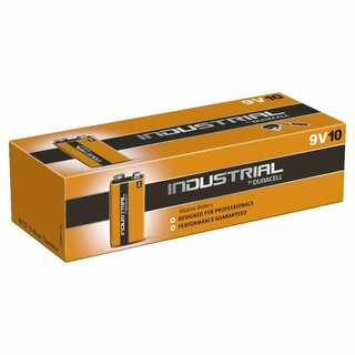 Duracell Industrial MN 1604 9V Block Batterien Lose