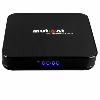 Mutant INFERNO SE 8K 30FPS 4K 60FPS Android 9.0 Dual Wifi IPTV Receiver Streaming Box